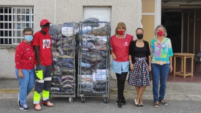 Grupo Mimara dona prendas de ropa a Cáritas Diocesana de Tarragona
