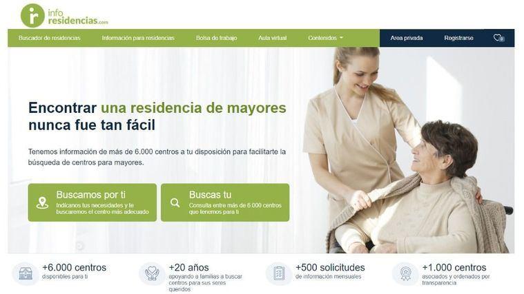 Inforesidencias.com renueva su portal en una apuesta por la transparencia total de las residencias