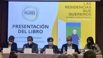Presentación del libro Las residencias que queremos de Pilar Rodríguez.