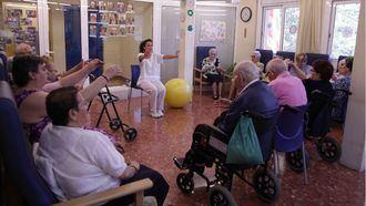 Una residencia catalana de personas mayores.