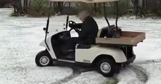 Visto en la red: ¿Quién dice que con 91 años no queremos divertirnos?