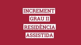 Cataluña sube el importe que reciben las residencias concertadas por las plazas para dependientes de grado II