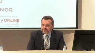 El presidente de AERTE, José María Toro, en el XXX Seminario Permanente de la  Fundación ETNOR para hablar de la ética empresarial de las residencias.