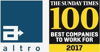 Altro vuelve a ser nombrada como una de las 100 mejores empresas donde trabajar