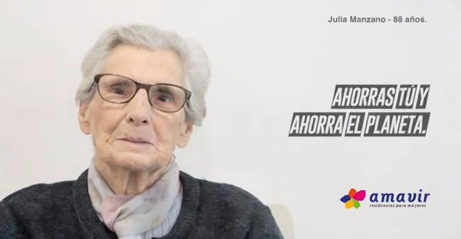 Amavir y la Cumbre del Clima con los lemas #Estiempodeactuar y #GraciasporvenirGreta