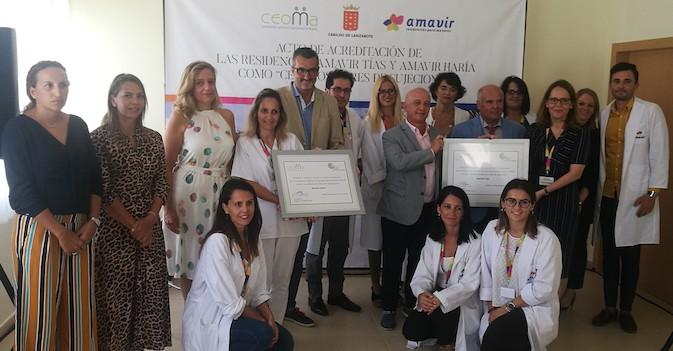 Amavir Tías y Amavir Haría, primeras residencias en Lanzarote acreditadas como