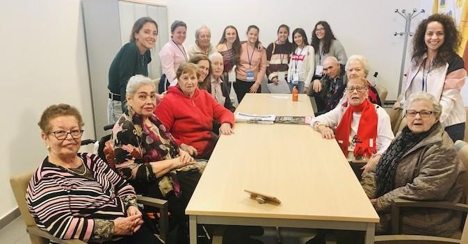 Amavir Tejina participa en un programa intergeneracional en Tenerife promovido por la Universidad de La Laguna