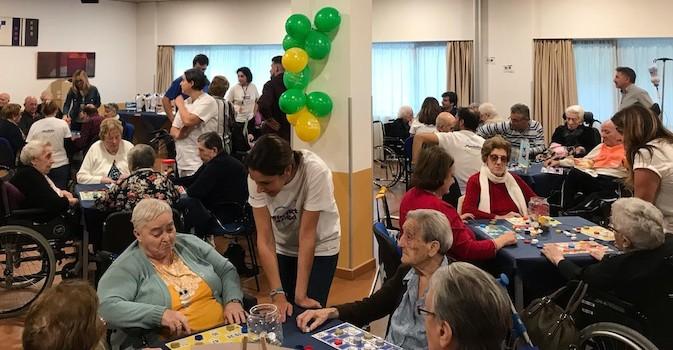 Voluntariado en residencias geriátricas Amavir