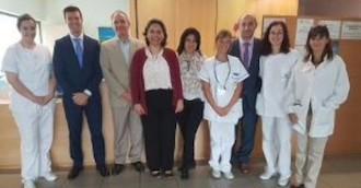 Una delegación de El Salvador visita Amma para conocer el programa de eliminación de sujeciones