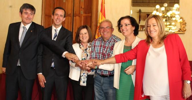 Sánchez Rubio destaca a las corporaciones locales en el