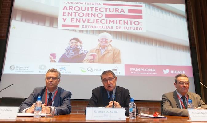 La I Jornada Europea de Arquitectura, Entorno y Envejecimiento analiza las necesidades actuales de la población envejecida