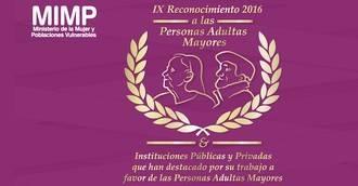Asispa Perú opta al IX Reconocimiento por trabajar a favor de las personas mayores