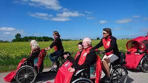 La residencia Sauleda organiza el 'Proyecto Vejez Activa: Bici sin edad'