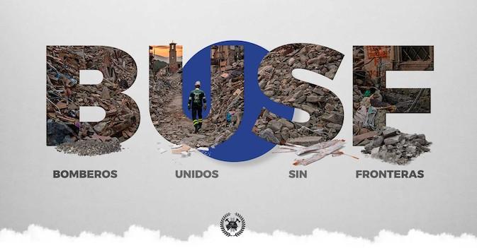 Amavir vuelve a colaborar un año más con la ONG Bomberos Unidos sin Fronteras