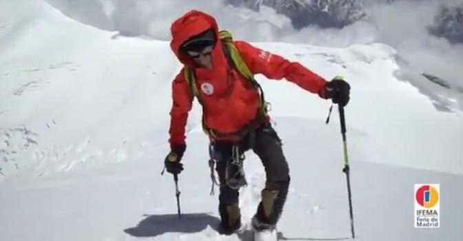 Visto en la red. Carlos Soria, a 6.450 metros de altitud en Nepal con 79 años