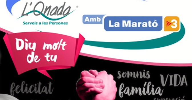 L'Onada Serveis destina más de 21.000 euros a la Marató de TV3 para la lucha contra el cáncer