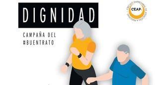 Campaña de Ceaps para poner la dignidad y el respeto de las personas mayores ante el abuso y el maltrato