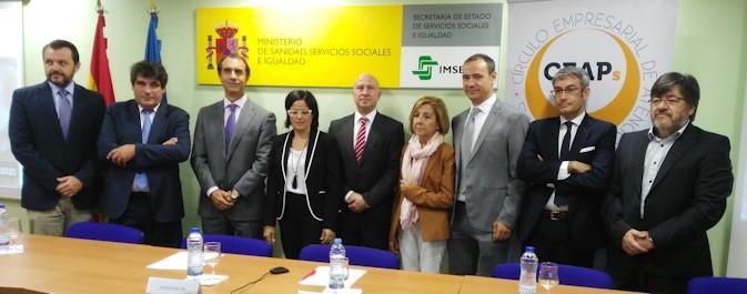Cinta Pascual, presidenta de CEAPs: 'Somos empresas que vamos a trabajar por las personas'
