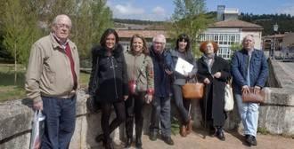 Ceate y la Fundación Santa María La Real disfrutan del patrimonio de Aguilar de Campoo