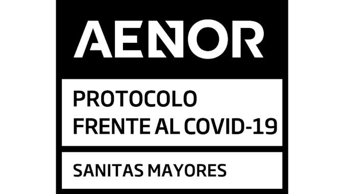 Las residencias de mayores de Sanitas obtienen el certificado AENOR frente a la COVID-19