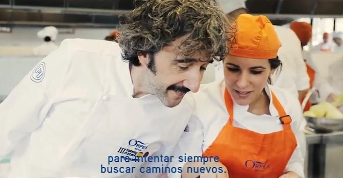 Diego Guerrero, chef: la pasión del cocinero da valor a la alimentación de los mayores