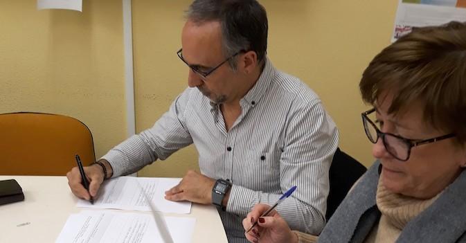 Amavir Oblatas, en el programa 'Tiempo fuera' del Gobierno navarro