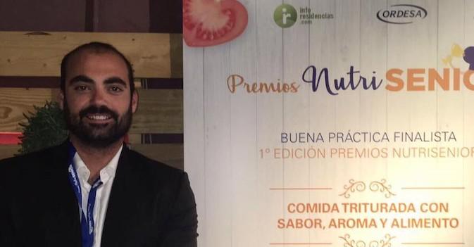 Residencial Costa Nevada, finalista de los Premios Nutrisenior con 'Comida triturada con sabor, aroma y alimento'
