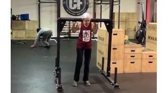 Visto en la red: viral por hacer Crossfit con 72 años, otro vídeo para los que ponen excusas