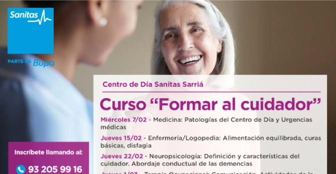 Un curso para personas que cuidan a dependientes