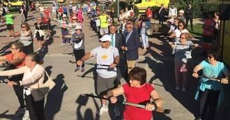 Deporte para promocionar el envejecimiento activo y saludable en Madrid