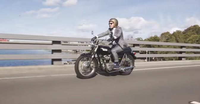 Visto en la red: Motos clásicas sin perder la elegancia