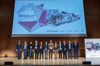 Confebask premia a la directora de DomusVi en Balmaseda por la formación de estudiantes de FP