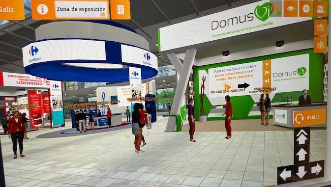 DomusVi participa en la IV edición de la Feria (Virtual) de Empleo de Cruz Roja Comunidad de Madrid