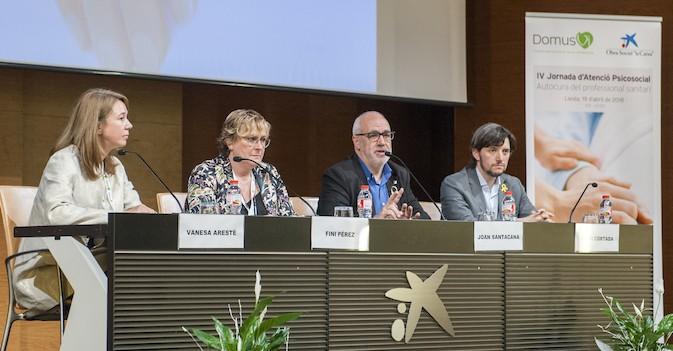 Profesionales sanitarios aprenden herramientas de autocuidado personal en la 'IV Jornada de Atención Psicosocial de Lleida'