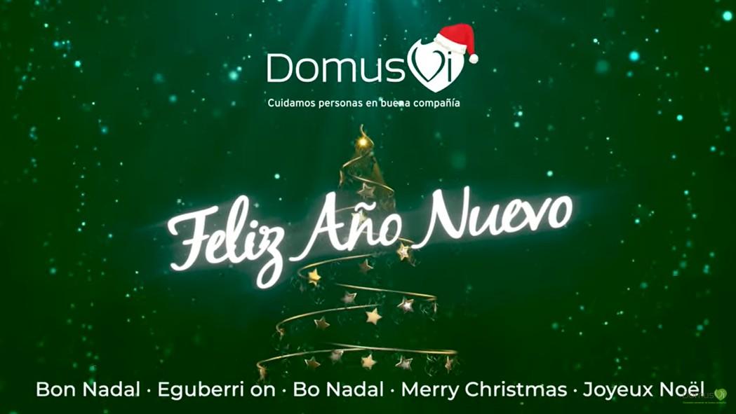 DomusVi felicita la Navidad agradeciendo a todos los que han cuidado de las personas mayores en la pandemia