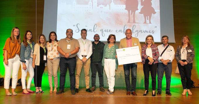 """DomusVi dona 5.000 euros para el proyecto """"La Casa del Alzhéimer"""" de AFA Toledo"""