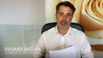 Eduard Segura, gerente de Isensi.