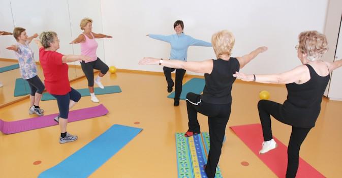 Pacientes navarros de entre 75 y 103 años participan en un programa pionero para prevenir el deterioro con ejercicio físico