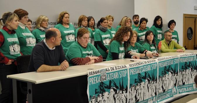 Preacuerdo entre GESCA y ELA para solucionar el conflicto en las residencias de Vizcaya