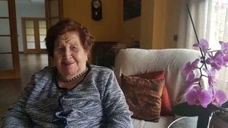 Elisa Soria, 97 años, vive en la residencia ORPEA Torrelodones y ha superado el coronavirus