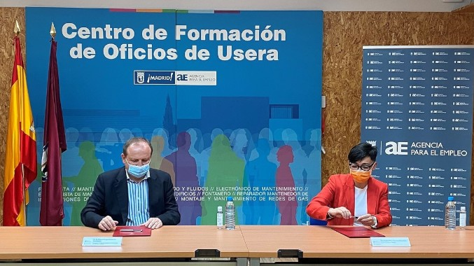 La Agencia para el Empleo y AMADE firman un convenio de prácticas laborales en la rama sociosanitaria