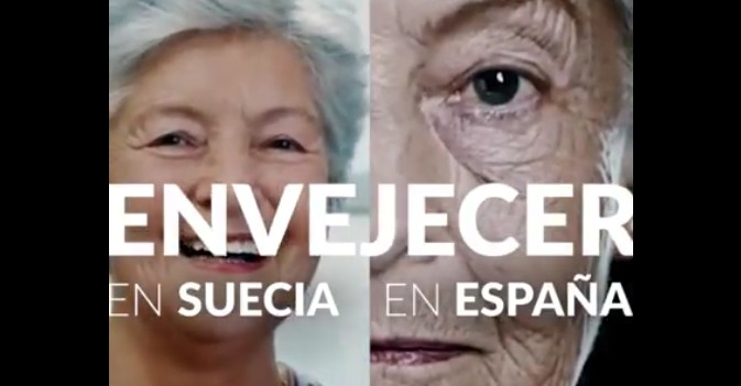 Visto en la red: ¿Se envejece igual en Suecia que en España?