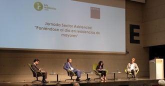 """Éxito de la Jornada sobre el Sector Asistencial """"Poniéndose al día en residencias de mayores"""""""