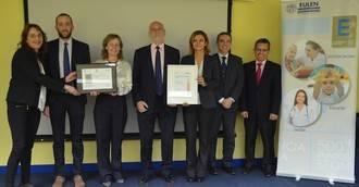 EULEN Servicios Sociosanitarios renueva el sello de excelencia EFQM 500+