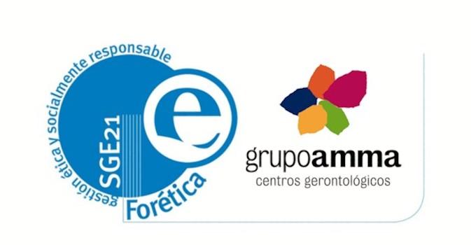 Amma recibe el certificado SGE21 que la acredita como empresa socialmente responsable