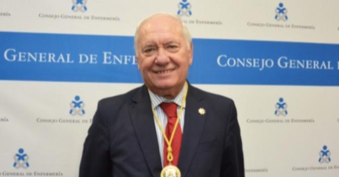 Florentino Pérez, nuevo presidente del Consejo General de Enfermería