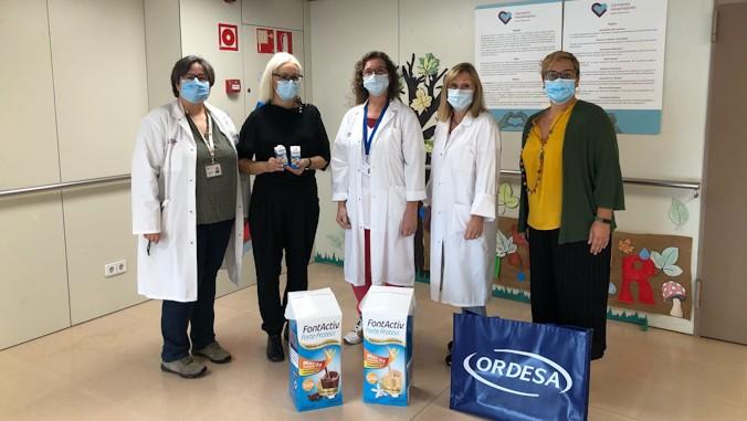 Fundació Ordesa dona 3.000 packs de suplementos nutricionales al Complejo Asistencial en Salud Mental Benito Menni