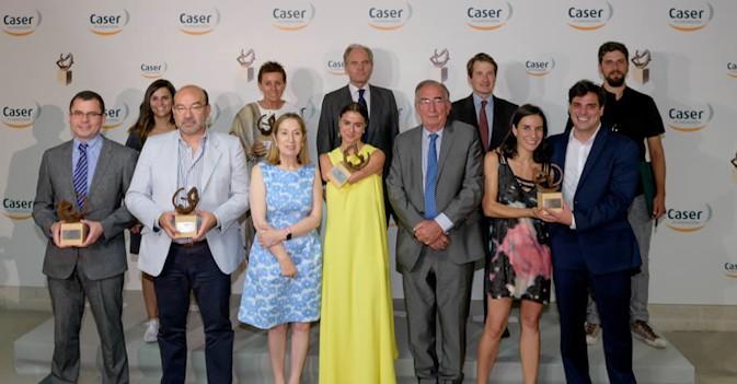 Ana Pastor preside la entrega de los VIII Premios Dependencia y Sociedad de la Fundación Caser