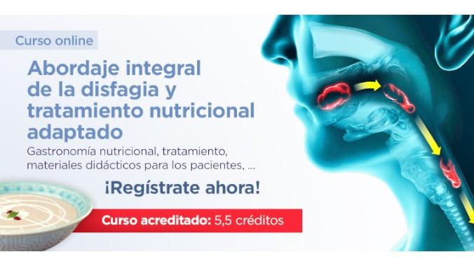 ¿Te interesa un curso sobre disfagia y tratamiento nutricional adaptado?