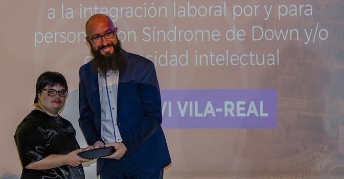 La residencia DomusVi Vila-Real, 'empresa integradora' en los Premios Síndrome de Down Castellón